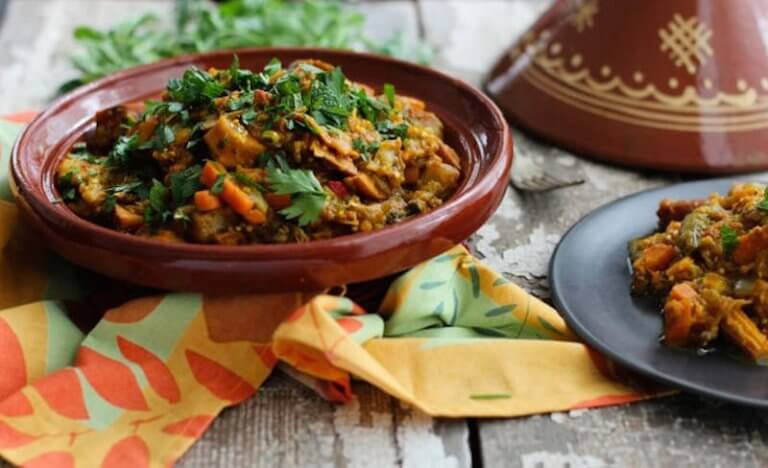 Almond Vegetarian Tagine