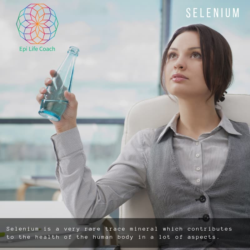 Selenium is a very rare trace mineral which contributes to the health of the human body in a lot of aspects.