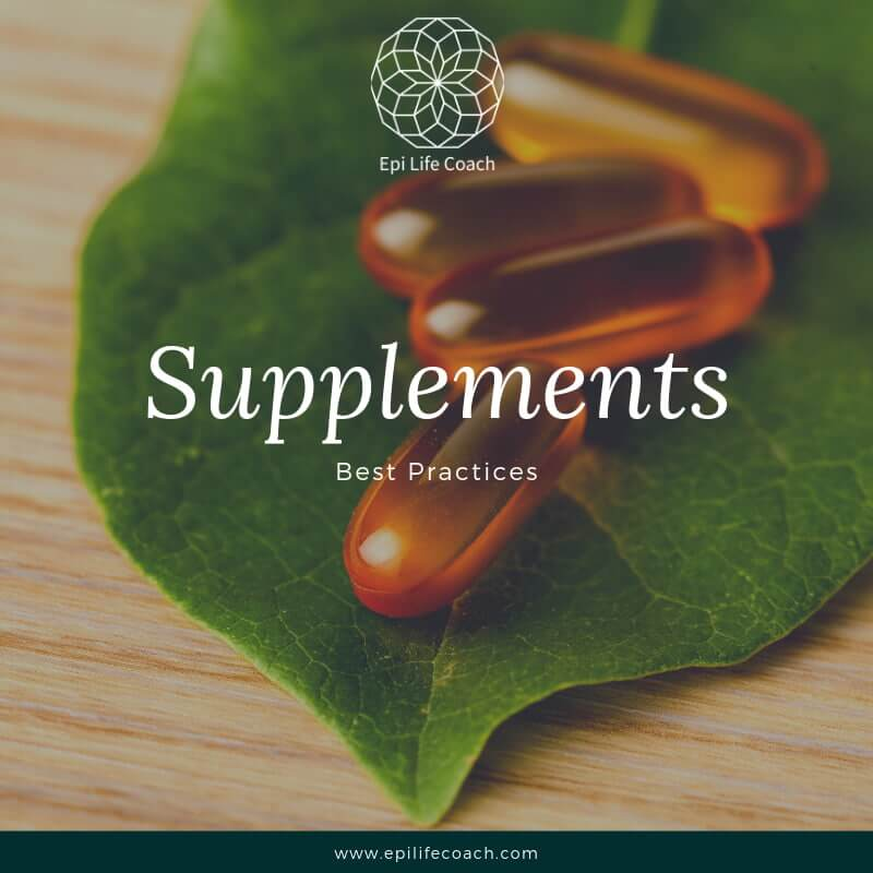 Take good care of your supplements