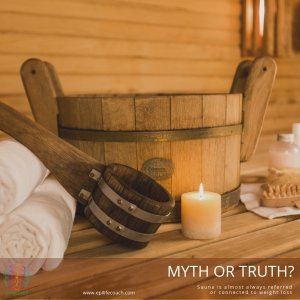 the myth of loosing weight with sauna