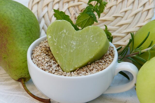 Soap Green Sesame Pear Apple Cup