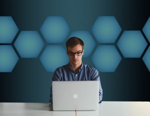 Businessman Computer Professional