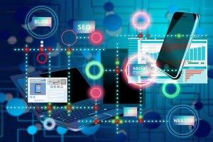 Internet Social Media Network Blog