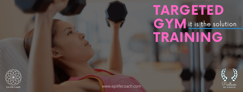 Tighten your breasts with targeted gym training