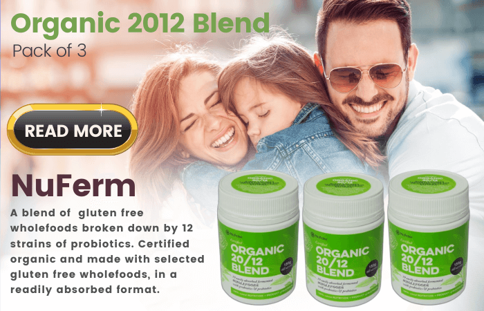 NuFerm - Organic 2012 Blend Pack of 3