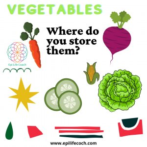 Where to store vegetables