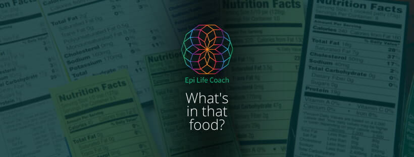 Understanding the food labels for average consumers